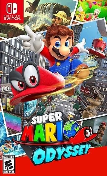 Super Mario Odyssey - Reg3 - Switch-0