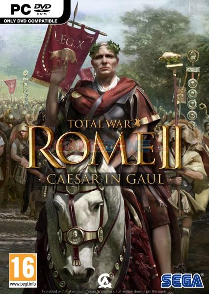 Total War: Rome II - Caesar in Gaul (3DVD) - PC-0