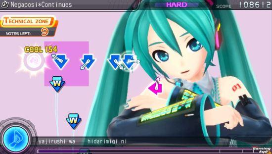 Hatsune Miku Project DIVA f Vita 6