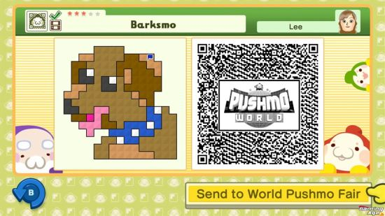 Pushmo World_QR
