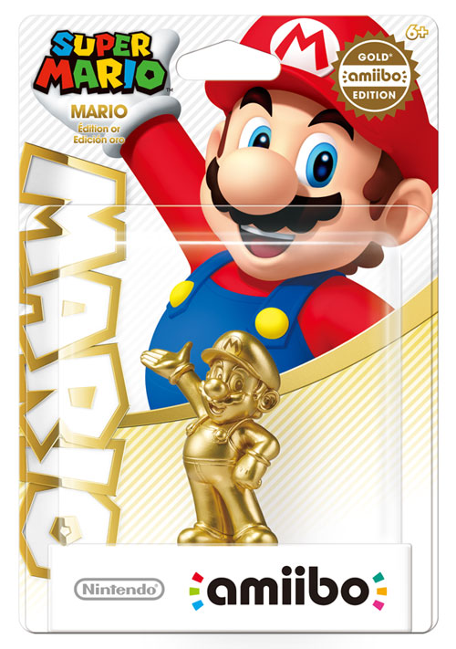 Gold Edition Super Mario Amiibo Launching Exclusively At
