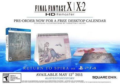 FF HD Remaster pre-order bonus