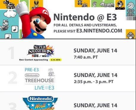 Nintendo-e3-schedule
