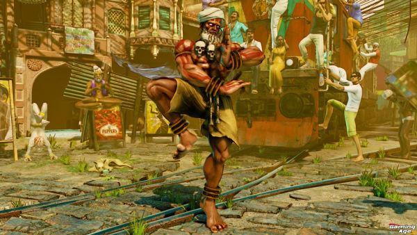 Street Fighter V Dhalsim_1_intro