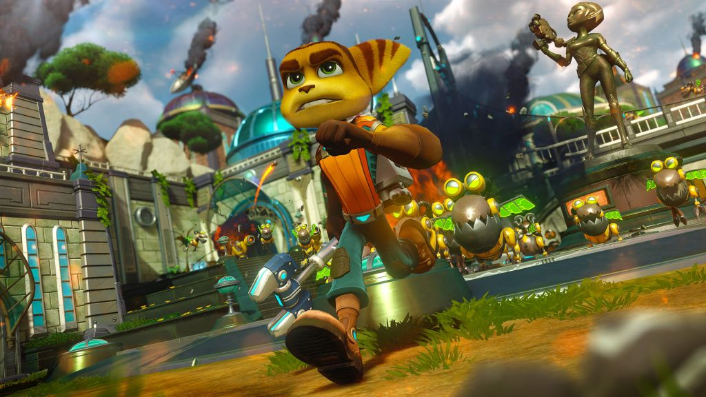 Ratchet Clank Review For Ps4 Gaming Age