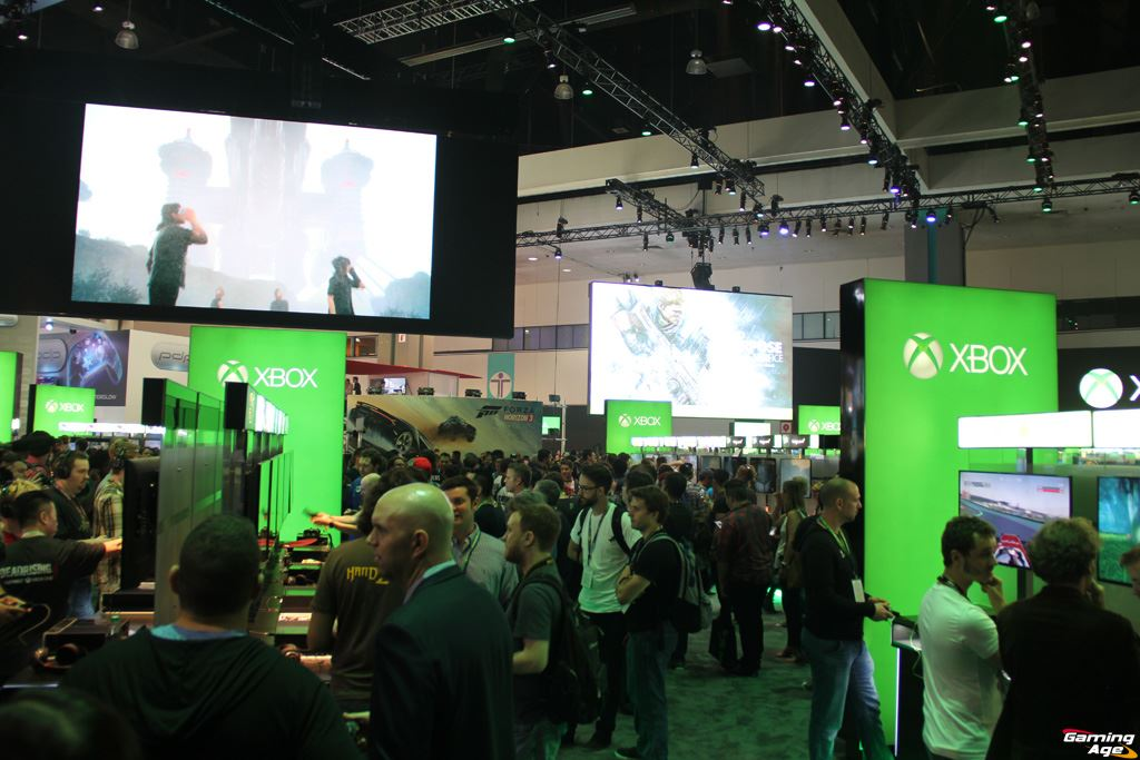 E3 2016 Xbox Booth Gallery Gaming Age