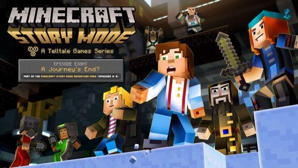 Minecraft Story Mode EP 8 art