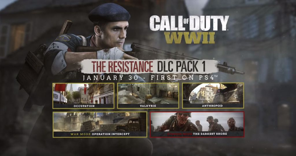 'Call of Duty: WW2' DLC: New The Resistance Trailer Released