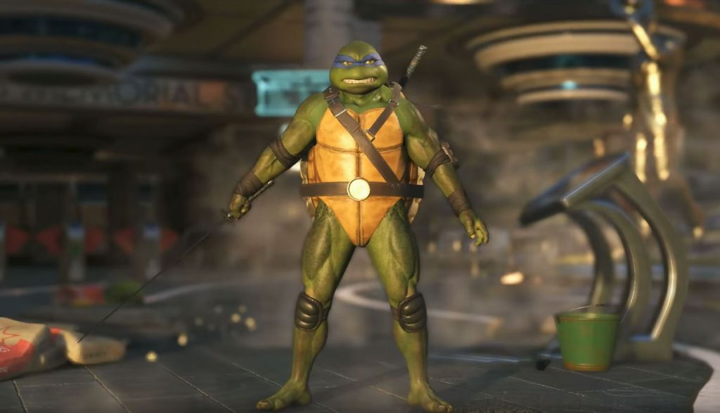 Teenage Mutant Ninja Turtles Gameplay Footage Revealed for Injustice 2