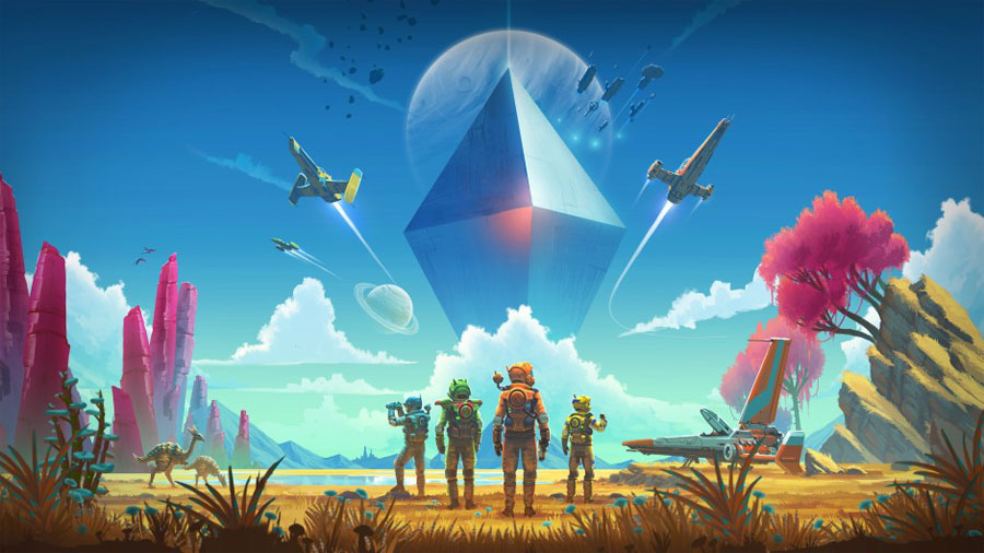 No Man's Sky coming to Xbox One in July with multiplayer