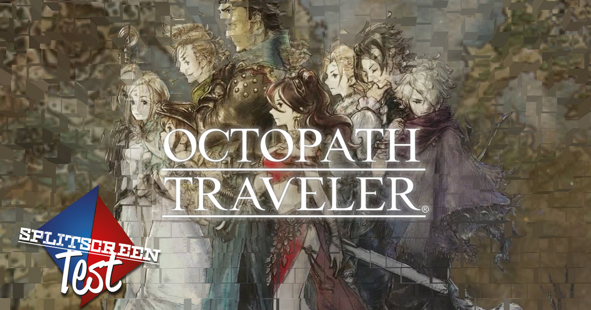 Octopath Traveler - Splitscreen-Test #8