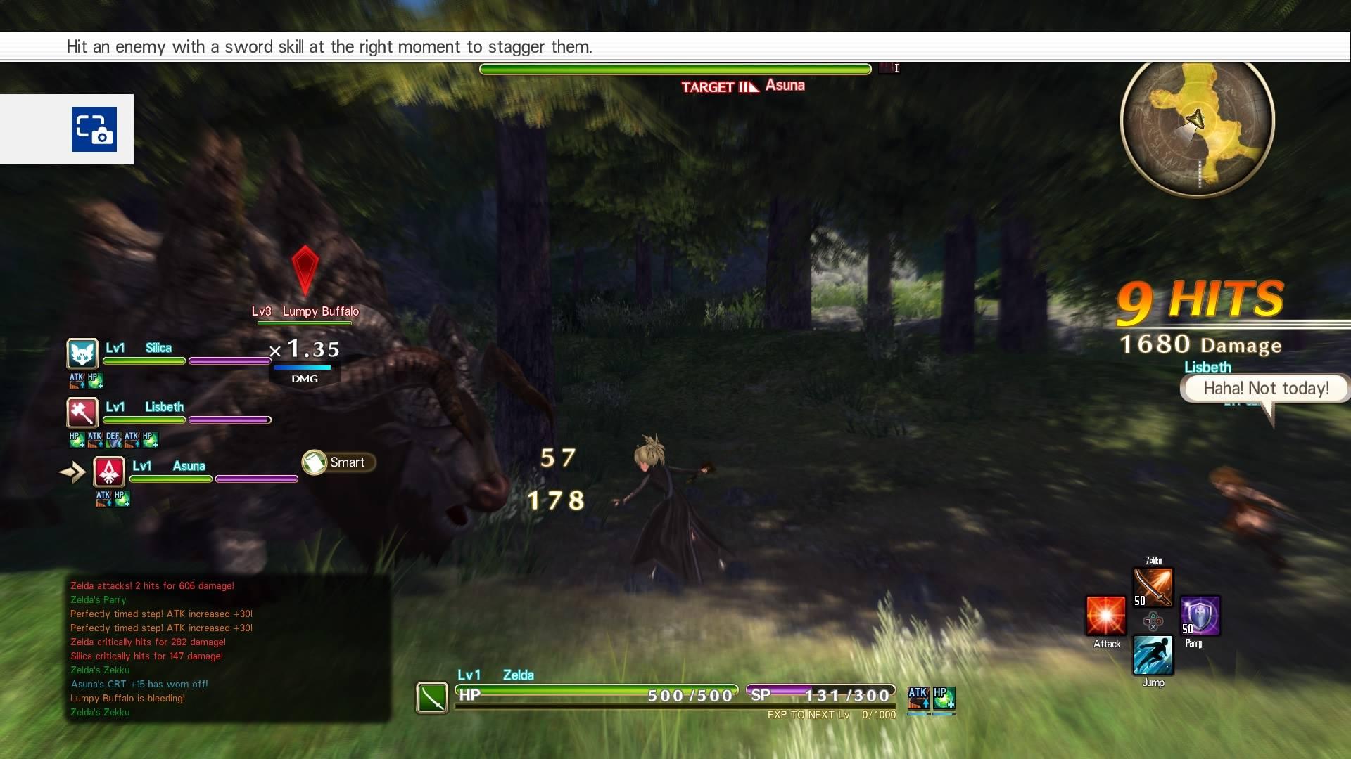Review: Sword Art Online: Hollow Realization   GamingBoulevard