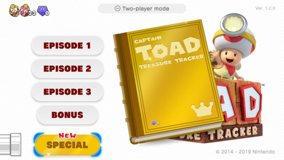 Review: Captain Toad: Treasure Tracker - The New levels