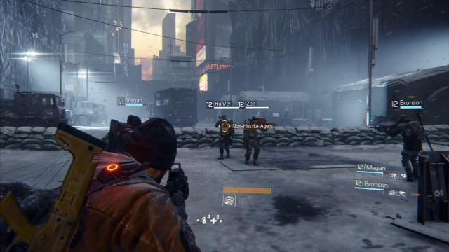 The Dark Zone is a PVP enabled environment.