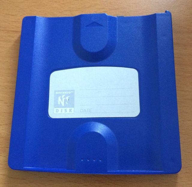 Nintendo64DDBluePrototypeDisk