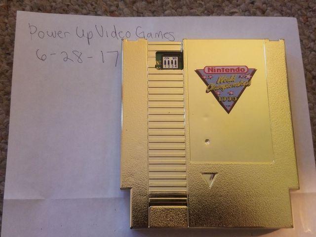 Nintendo World Championships Gold Cartridge Listed For 100000 On EBay