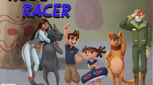 Rose Racer Inspired by Mario Kart and Toy Story on Kickstarter