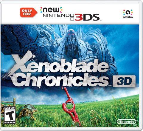 Explore RPG Xenoblade Chronicles 3D on New Nintendo 3DS XL