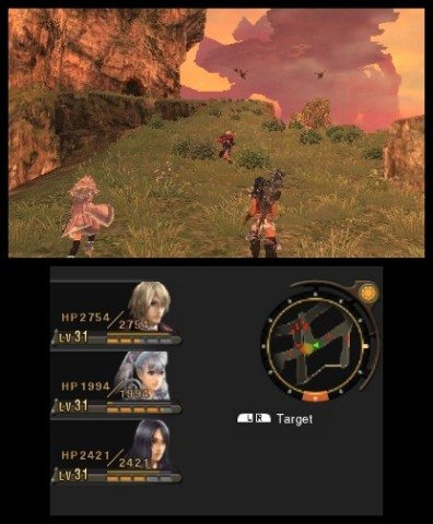 In Xenoblade Chronicles 3DS, take up arms against an invading army in this remake of the acclaimed Wii RPG, playable only on the New Nintendo 3DS XL system. (Photo: Business Wire)