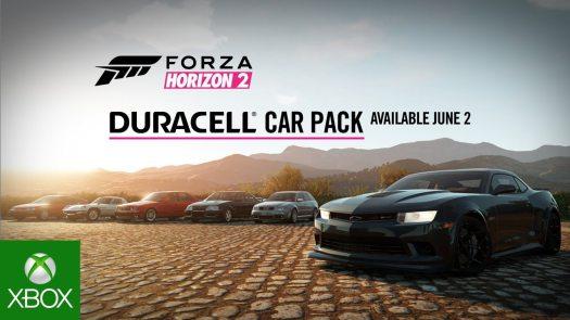 Forza Horizon 2 Duracell Car Pack Video