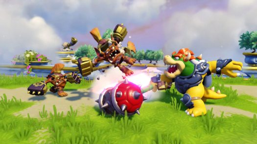E3 2015 Donkey Kong & Bowser Guest Star in Skylanders SuperChargers
