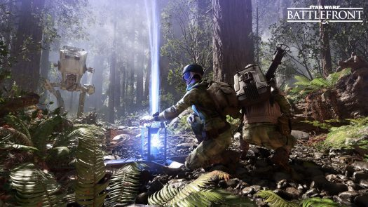 E3 2015 Star Wars Battlefront Co-Op Missions Gameplay Reveal Video