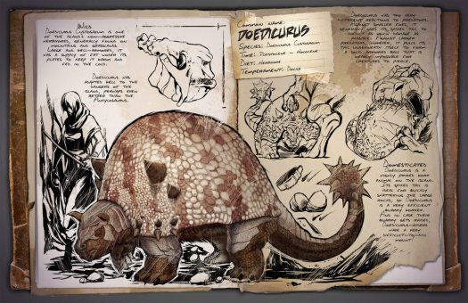 PAX Prime 2015: ARK: Survival Evolved Rolls In with Doedicurus