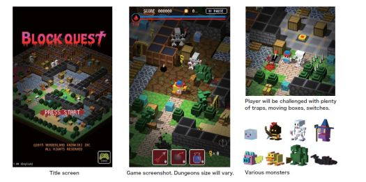 Block Quest Heading to Tokyo Game Show 2015