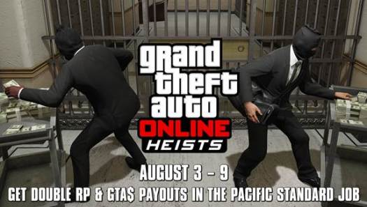 GTA Online Heists Gaming Cypher Aug 3-9