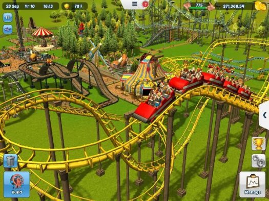 RollerCoaster Tycoon 3 Now Available for iOS