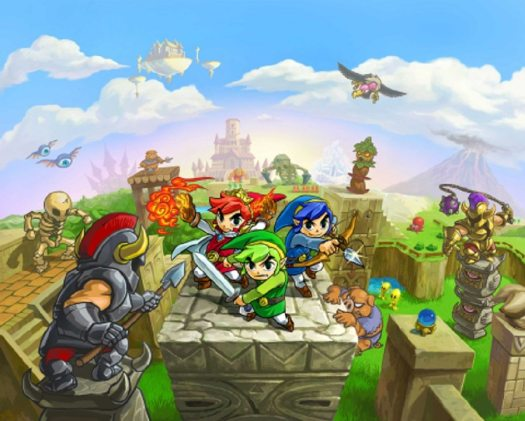 The Legend of Zelda: Tri Force Heroes Launches Exclusively for Nintendo 3DS on Oct. 23