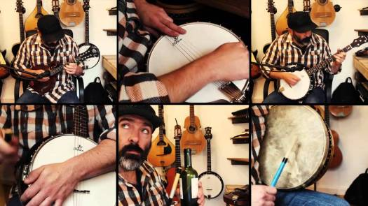 Dune Sign of the Worm DIY Cover Music Video by Banjo Guy Ollie