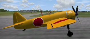 Japanese N1K1-J Fighter New in WB 2016