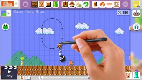 Super Mario Maker Lets You Create Super Mario Bros. Levels and Share Them with the World