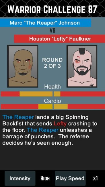 MMA Manager Free Releases for Mobile Nov. 18