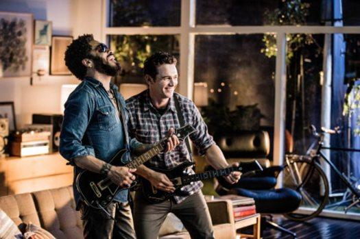 Guitar Hero Live Pits James Franco against Lenny Kravitz in an Epic Rock Battle