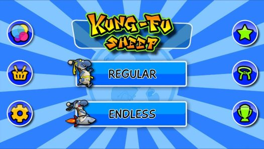 REVIEW of Kung-Fu Sheep on the iPAD