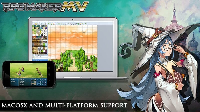 RPG Maker MV Now Available for Pre-order - Gaming Cypher