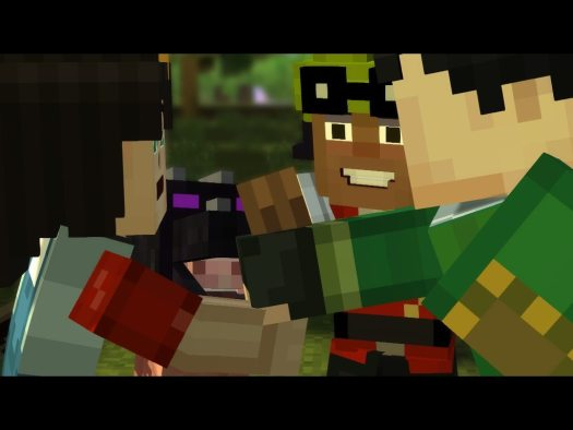 REVIEW of Minecraft: Story Mode Episode 1