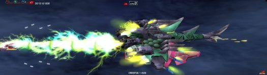 DARIUSBURST Chronicle Saviours Now available on Steam, PS4, and Vita