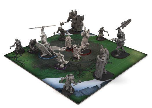 Banner Saga Warbands Boardgame Magic Comes to Kickstarter Next Week
