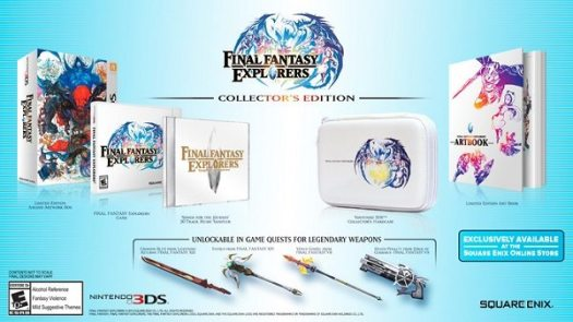 FINAL FANTASY EXPLORERS Collector's Edition Gaming Cypher