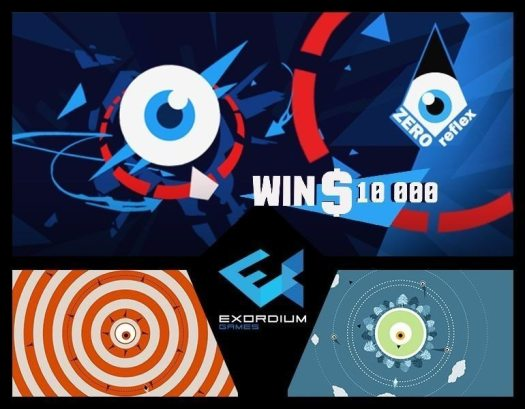Exordium Games Releases Psychedelic Action Arcade Evader ZERO REFLEX