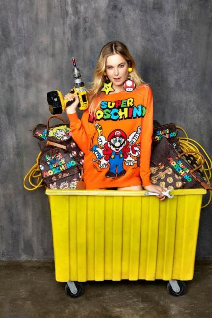 Nintendo Announces Fashion Collaboration with Moschino for Super Moschino Collection