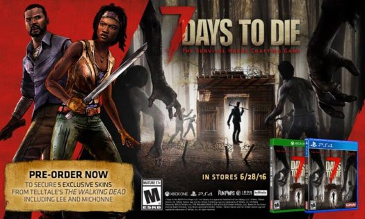 7 Days to Die by Telltale Publishing Heading to PS4 & Xbox One June 28