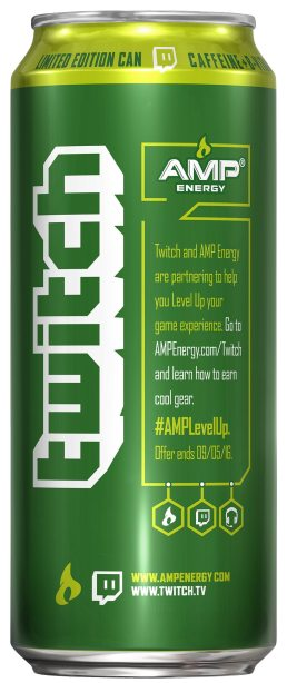 AMP Energy Twitch Original Side Gaming Cypher