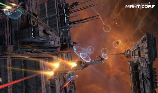 Galaxy on Fire 3 - Manticore Launches on iOS by Deep Silver FISHLABS