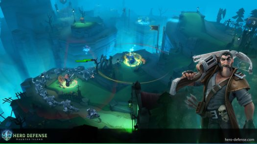 Hero Defense - Haunted Island Exits Steam Early Access with Special Discount