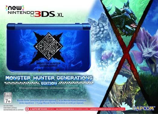 The Hunt Begins July 15 with Monster Hunter Generations