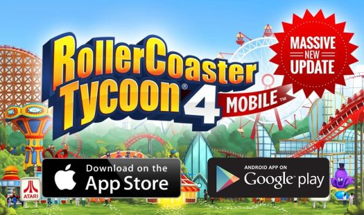 RollerCoaster Tycoon 4 Mobile Massive Update Details